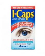 Alcon Laboratories  I-Caps Dietry Supplement  (30 tabs)