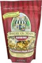 Bakery on Main  Nut Cranberry and Maple Gf Granola  (340g)