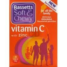 Bassetts  Soft and chewy Orange Vitamin C & Zinc  (30s)