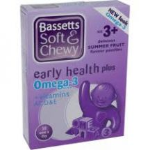 Bassetts  Soft and chewy Summerfruits Omega3  and vitamins  (30 caps)