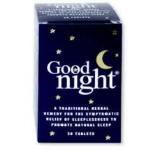 Bio Health  Goodnight to promote NATURAL SLEEP  (50 tabs)