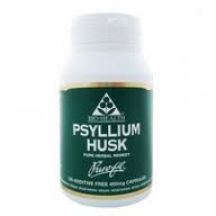 Bio Health  Psyllium Husk 400mg powdered husk  (120 caps)