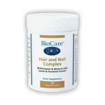 Biocare  Hair and Nail Complex  (90VegCaps)
