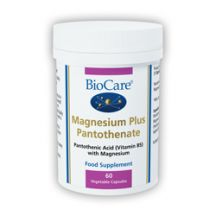 Biocare  Magnesium Plus Pantothenate  (60 vegcaps)