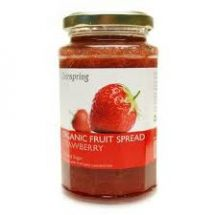 Clearspring  Organic Strawberry Spread Nas  (290g)