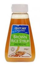 Crazy Jack  Brown Rice Syrup  (330ML)