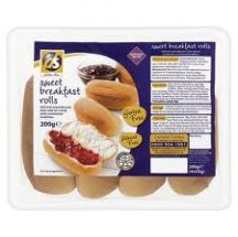 Dietary Specials  Sweet Breakfast Rolls   (200g)
