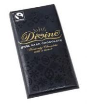 Divine  FairTrade 85% Dark Chocolate  (10X100G)