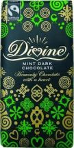 Divine  FairTrade Dark Mint Chocolate  (10 X 100G)