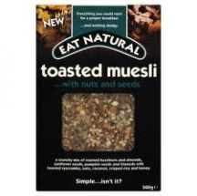 Eat Natural  Nut seed Toasted Muesli  (500g)
