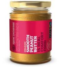Equal Exchange  Fair Trade Organic Nas Smooth  Peanut Butter  (280G)