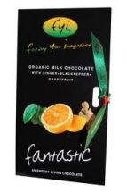 Feed Your Imagination  Ginger Blackpepper Grapefruit Oil Chocolate Fantastic   (100g)
