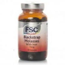 FSC  Iron, Blackstrap Molasses 15mg new formula  (30 caps)