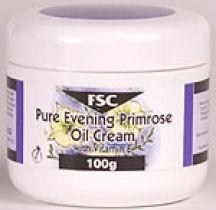 FSC  Pure Evening Primrose Oil Cream with Vitamin E  (100g)