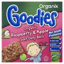 Goodies  Apple raspberry Cereal Bar Multi  (6X30)