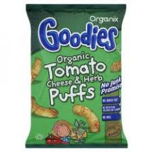 Goodies  Org Tomato Cheese Herb Corn puffs  (24X15G)