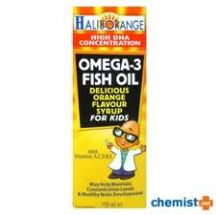 Haliborange  Orange Omega 3 Syrup 40ml  (400ml)
