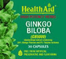 Health Aid  Ginkgo Biloba 5000mg Root Extract  (30 caps)