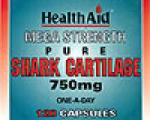 Health Aid  Mega Strength Pure Shark Cartilage 750mg  (120 caps)