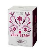 Higher Living  Healthy Living Very Berry Tea Bags  (15S)