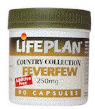 Lifeplan  Feverfew 250mg  (30 vegicaps)