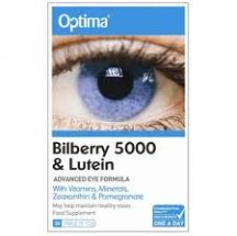 Optima  Bilberry 5000 Lutein  (30tabs)