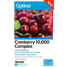 Optima  Cranberry 10,000mg Complex  (30 vegcaps)