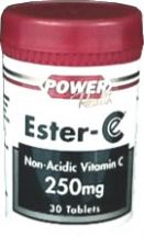 Power Health  Ester C 250mg  (30 tabs)
