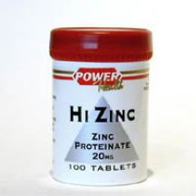 Power Health  Hi Zinc 2mg Elemental  (100 tabs)