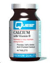 Quest Vitamins  Calcium (1000mg)  (45 tabs)