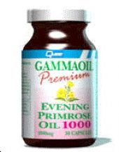 Quest Vitamins  GammaOil Premium Evening Primrose Oil 1000mg  (30 caps)