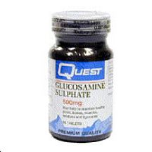 Quest Vitamins  Glucosamine Sulphate 1500mg  (60 tabs)