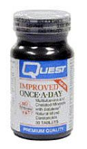 Quest Vitamins  Improved OAD Multi Supplement Yeast Free  (30 tabs)