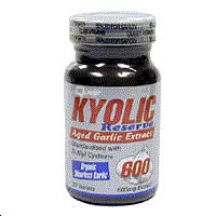 Quest Vitamins  Kyolic Garlic 600MG  (60 tabs)