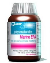 Quest Vitamins  Marine EPA Fish Oil Concentrate 1000mg  (90 caps)