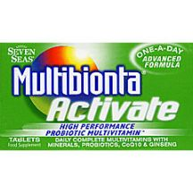 Seven Seas  Multibionta Activate high performance probiotic multivitamin  (60 tabs)