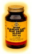 Solgar  Upper Klamath Lake Blue Green Algae 500mg  (120 vegicaps)