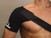Thermastrap  Shoulder Strap black  (small)