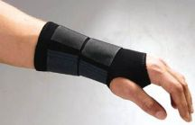 Thermastrap  Wrist Guard Support Black  (Med/Large)