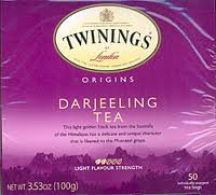 Twinings  Darjeeling Tea  (4 X 125G)