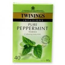 Twinings  Pure Peppermint Tea  (4 X 40S)