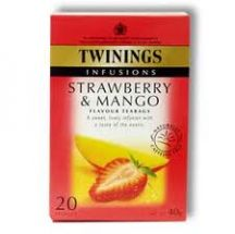 Twinings  Strawberry and Mango Tea  (4 X 20S)